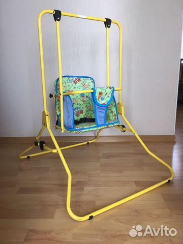 06ce36ef144ff Детские напольные качели «Лео» купить в Оренбургской области на ...