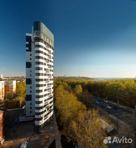 Продается двухкомнатная квартира за 4 810 000 рублей. Нижний Новгород, проспект Гагарина, 122.