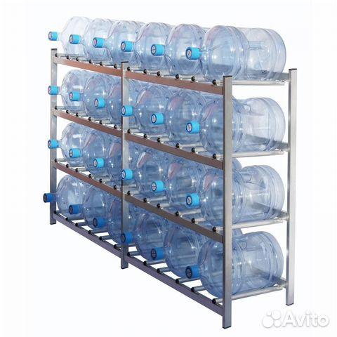 Стеллаж для воды (бутылей) редут-24 на 24 тары купить 1