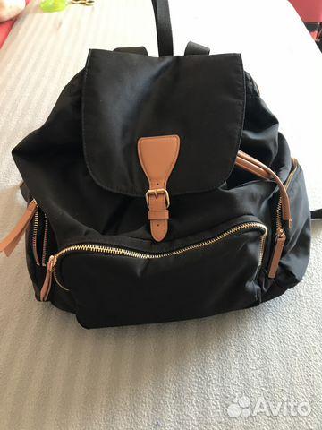 df68973e98a2 Рюкзак-мешок черный женский h&m | Festima.Ru - Мониторинг объявлений