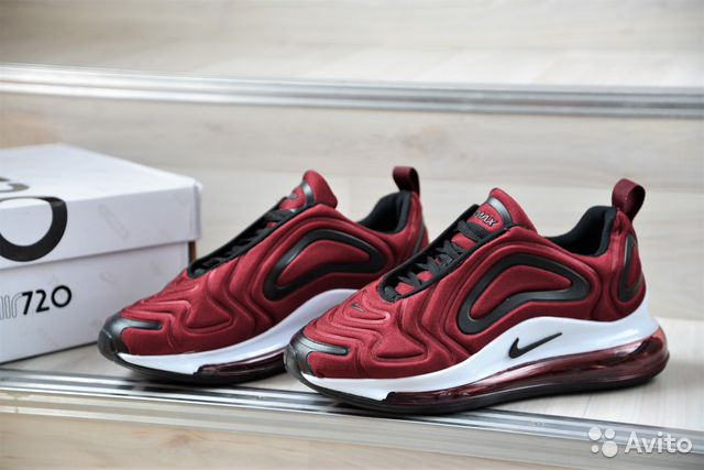 uk availability to buy best sell Кроссовки Nike air max 720, бордо(36,38 размер) купить в ...
