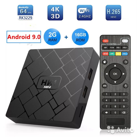 Snart tv box HK1 2/16gb 9 android