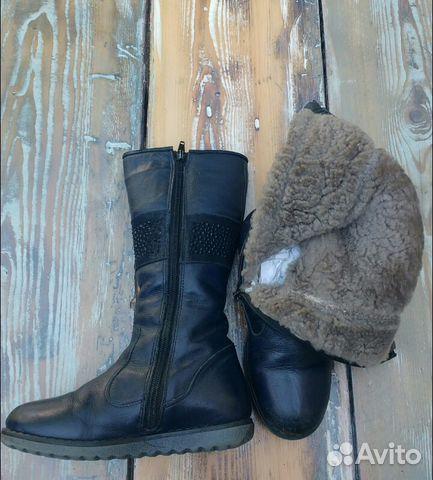 Сапоги кожаные 89649002630 купить 3