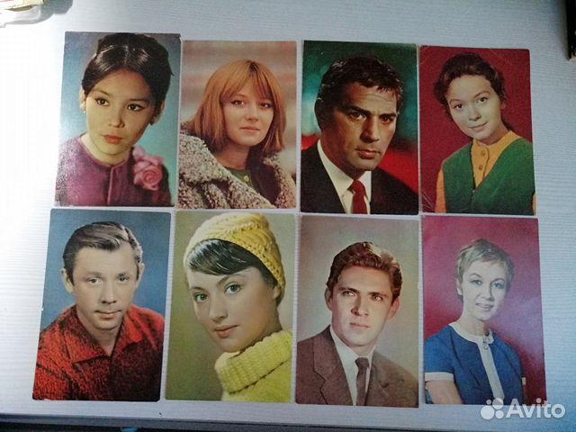 Открытки, бюро пропаганды советского киноискусства открытка