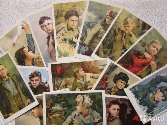 Картинки гифки, набор открыток пионеры герои