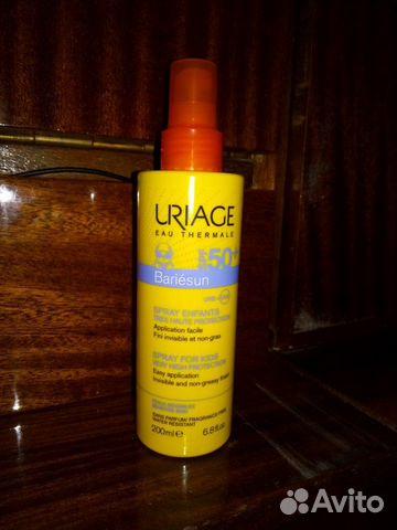 Солнцезащитный спрей uriage 200 мл