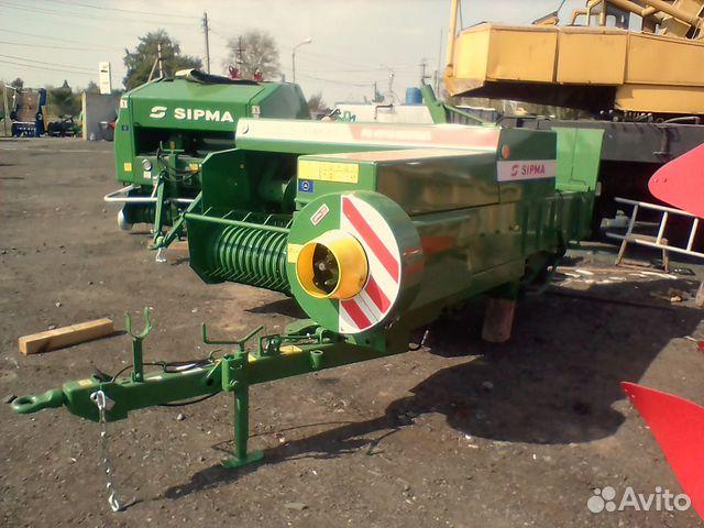 Пресс-подборщик тюковый рк-4000 Sipma