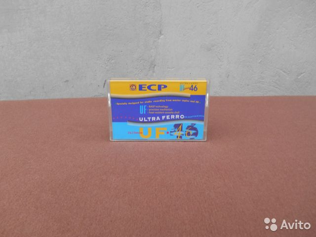 Аудиокассеты и боксы для кассет 89009245289 купить 8