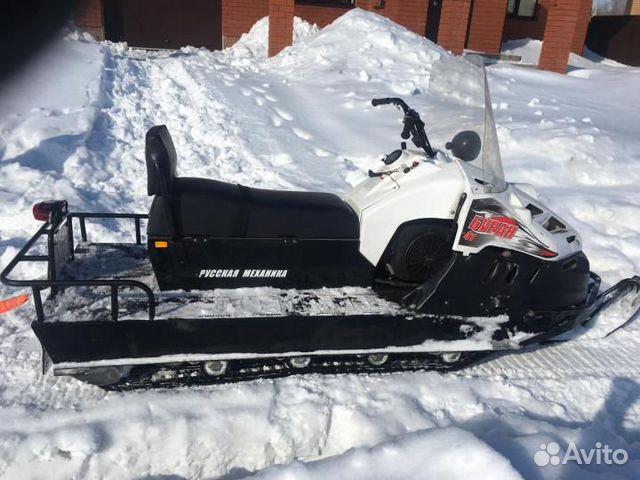 The snowmobile Buran 4 TD
