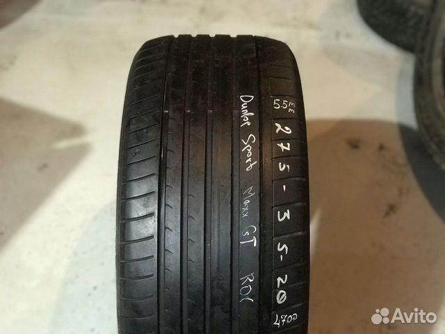 89380001718 275/35/20 Nokian - 1 шт, Dunlop - 1 шт