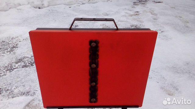 Мангал чемодан раскладной купить 1