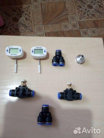 Термометры и краны
