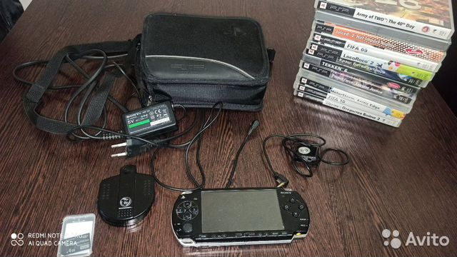 Аксессуары для Sony PSP