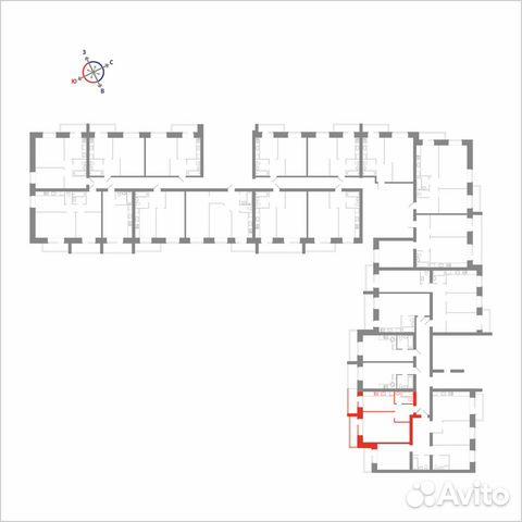 1-к квартира, 48.3 м², 6/14 эт. 89115506177 купить 4