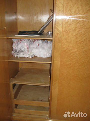 Шкаф трехстворчатый, массив ореха, шпон 89222065121 купить 10
