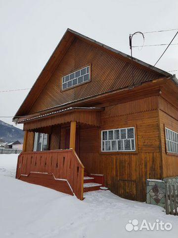 Дом 63 м² на участке 10 га