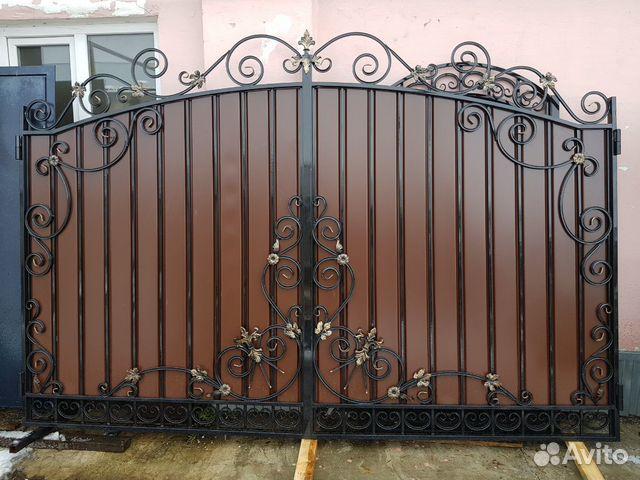 Кованые ворота 89009244646 купить 6