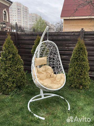 Кресло Кокон ротанг 89207561050 купить 1