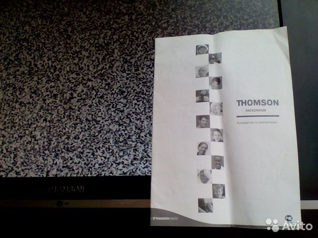 Телевизор Tomson 26 E62 89241187499 купить 2