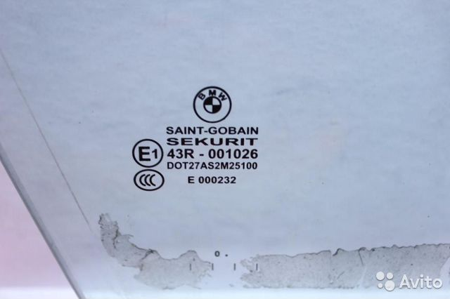 Стекло двери передней правой BMW 7 F02 F01 F02 89611608089 купить 3