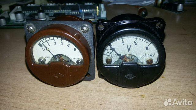 Два советских старинных индикатора