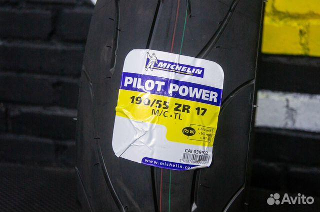 Новая мотошина 190 55 17 Michelin Pilot Power