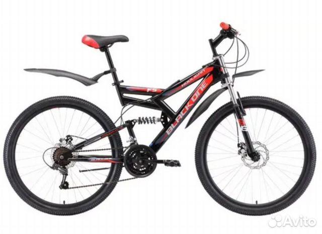 Велосипед Black One Hooligan FS 26 D  89501545217 купить 1