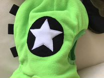 Новая Шапка- шлем зимняя 3-5 лет 2 шт
