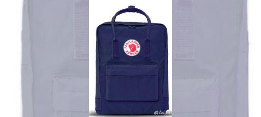 acd8162c0b59 Рюкзак Fjallraven Kanken Classic синий купить в Санкт-Петербурге на Avito —  Объявления на сайте Авито