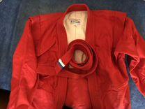 Куртка самбо Крепыш-Я Атака красная