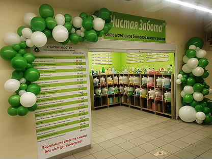 Франшиза Сети магазинов бытовой химии в розлив