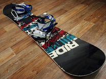 Сноуборд Ride с креплениями