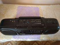 Двухкасентный магнитофон panasonik