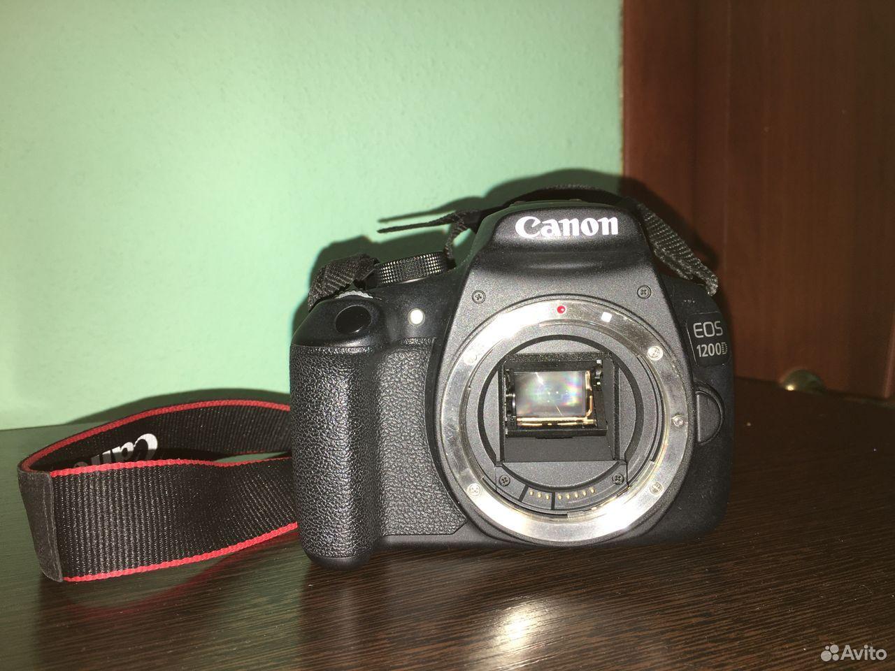 Фотоаппарат зеркальный Canon eos 1200d