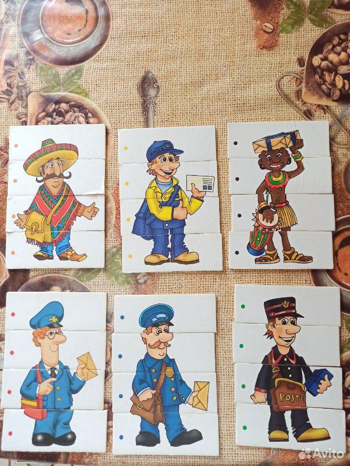 Настольные игры для малышей. Пазлы для начинающих  89023334915 купить 7