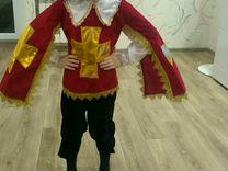 Новогодний костюм мушкетёра