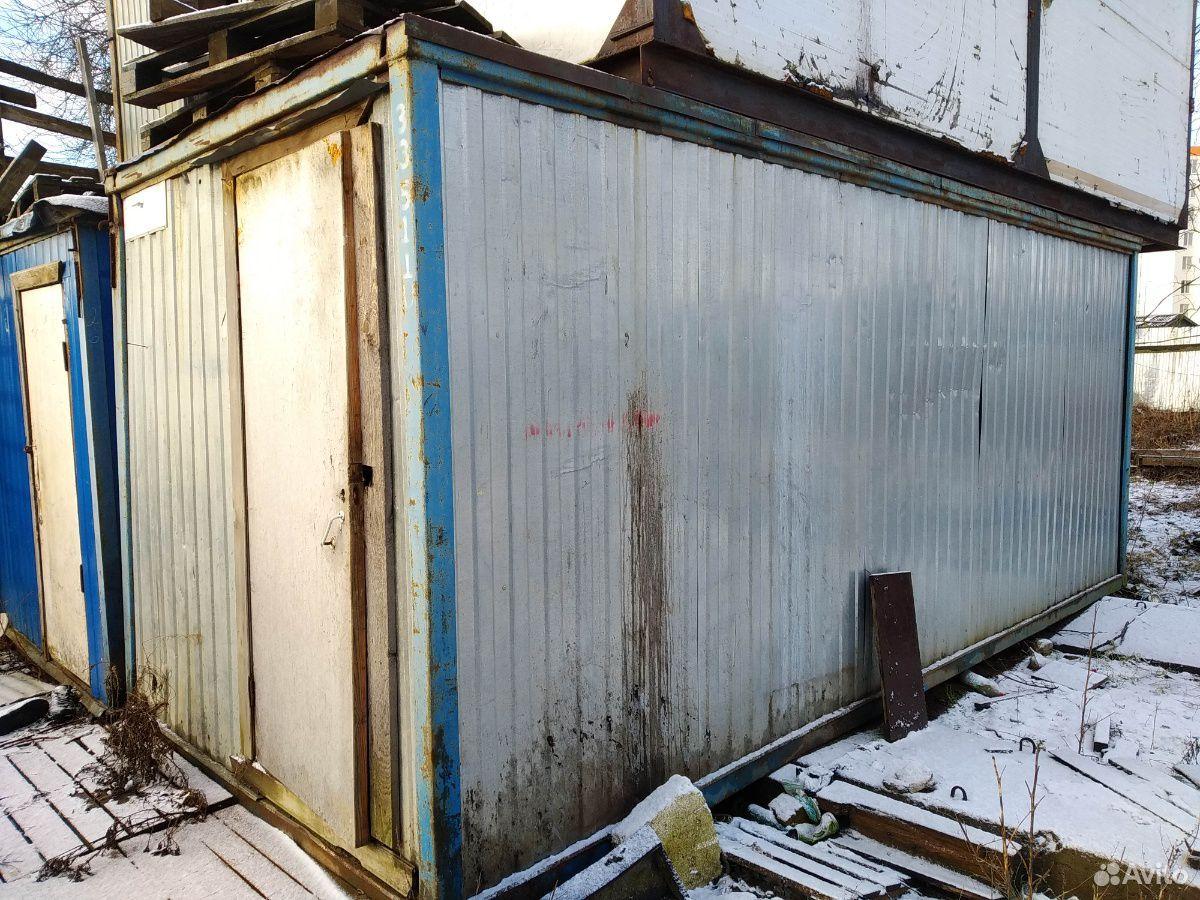 Блок-контейнер бу под склад в приличном состоянии