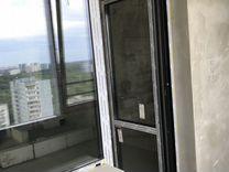 Балконный блок (аллюминиевый профиль и остекление)
