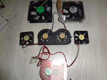 Вентилятор и радиатор для процессора и видеокарт
