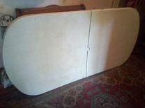 Большой стол на дачу