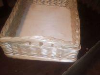 Короб плетеный — Мебель и интерьер в Москве