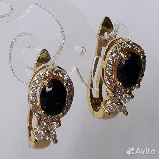 Серьги с драгоценными камнями  89112231871 купить 7
