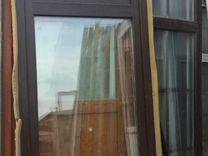 Панорамные ламинированные двери, окна бу разные