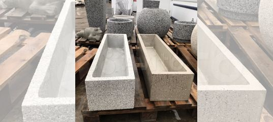 вазоны из бетона купить в красноярске