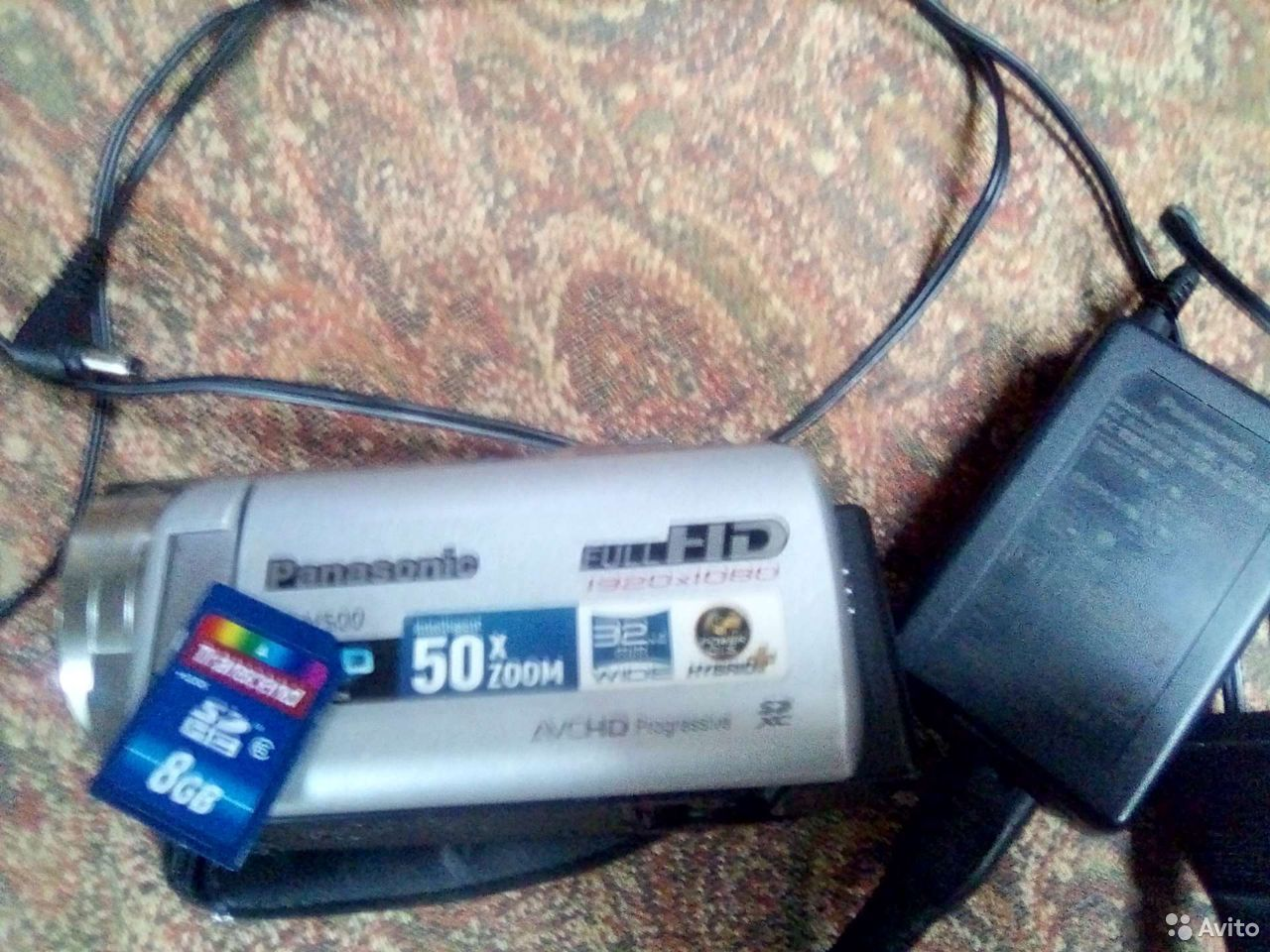 Видеокамера Panasonic HC-V500 Full HD  89373707500 купить 4