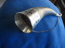 Кубок-рог серебро