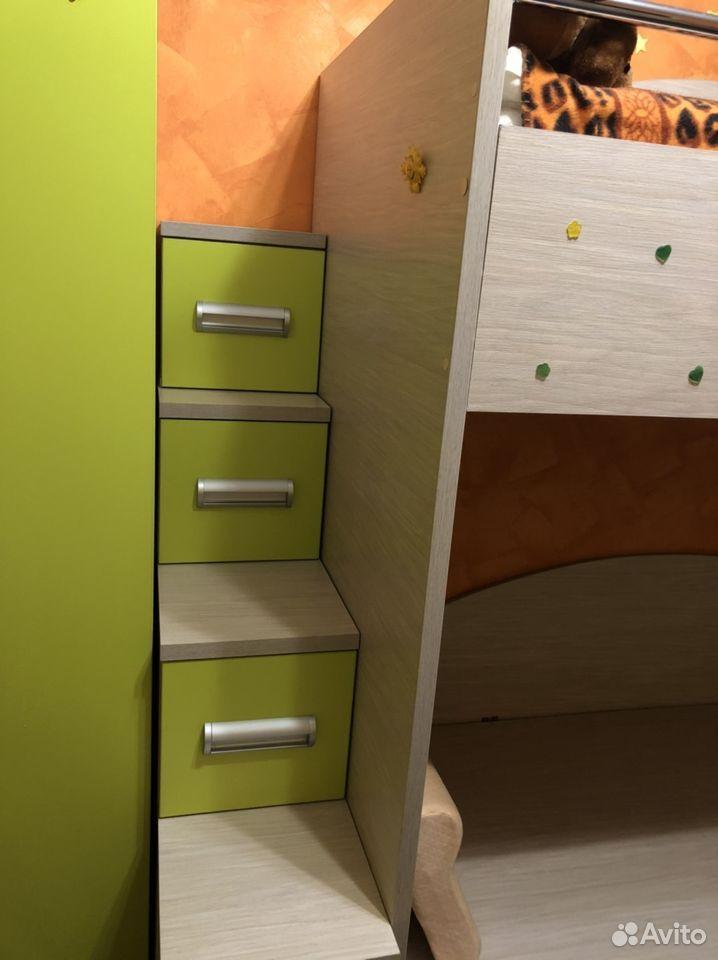 Продаю двухъярусную кровать и шифоньер 89272972965 купить 6
