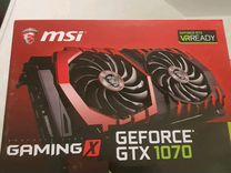 Видеокарта NVidia GeForce PCI-E MSI GTX 1070