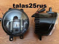 LED туманки для Toyota Harrier (дхо+Линза )
