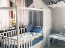 Кровать домик детская